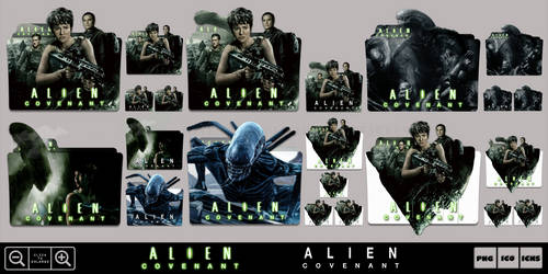 Alien Covenant (2017) Folder Icon Pack