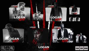 Logan Noir (2017) Folder Icon Pack