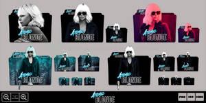 Atomic Blonde (2017) Folder Icon Pack by Bl4CKSL4YER