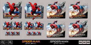 Spider-Man Homecoming (2017) Folder Icon Pack
