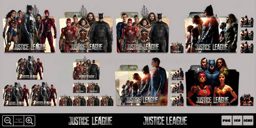 Justice League (2017) Folder Icon Pack by Bl4CKSL4YER