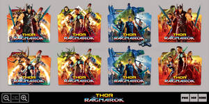 Thor Ragnarok (2017) Folder Icon Pack 2 by Bl4CKSL4YER