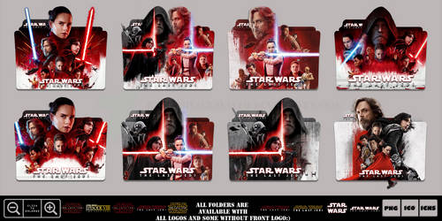 Star Wars The Last Jedi (2017) Icon Monster Pack