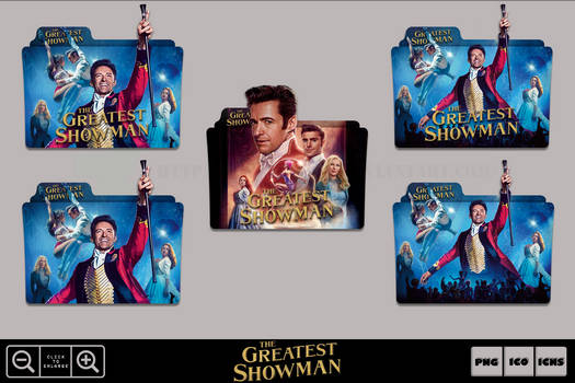 The Greatest Showman (2017) Folder Icon Pack