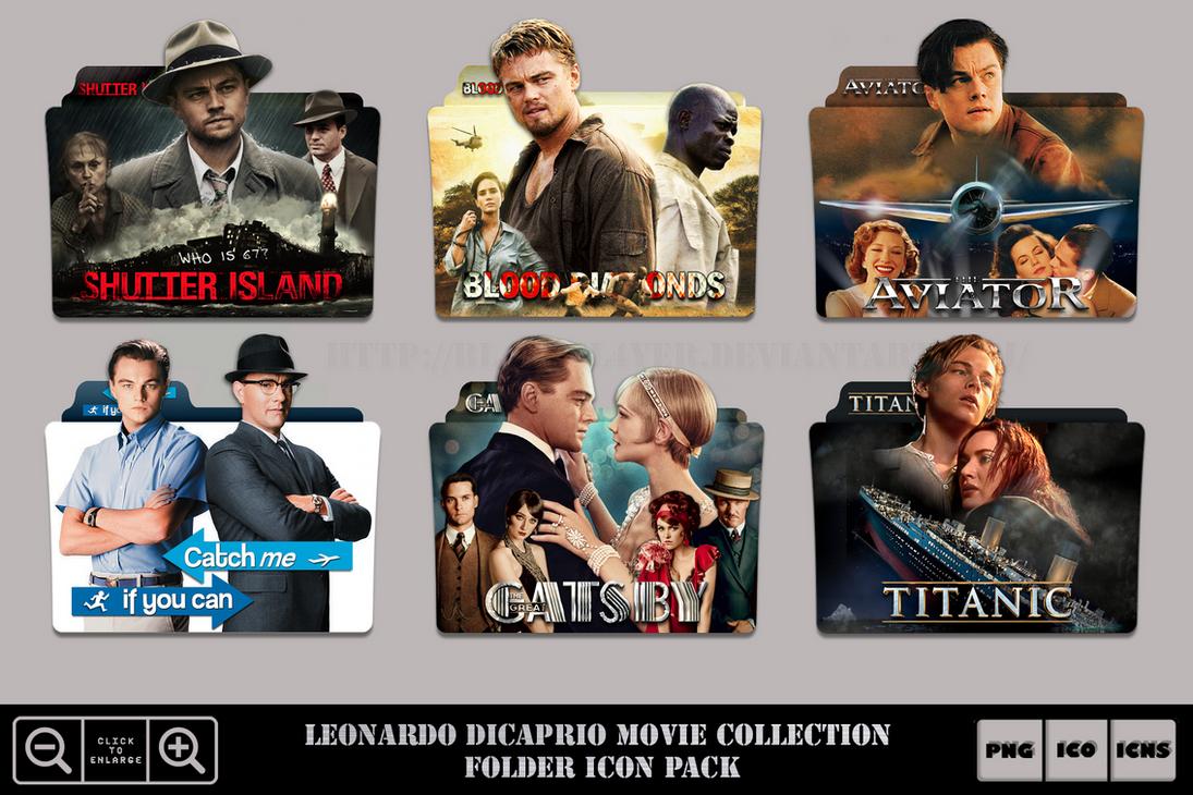 Leonardo Dicaprio Movie Collection Folder Ico Pack By