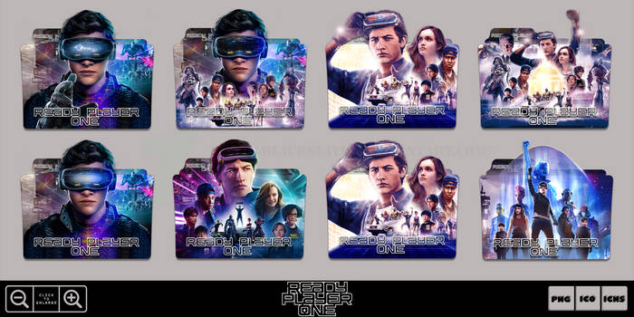 Ready Player One (2018) Folder Icon Pack