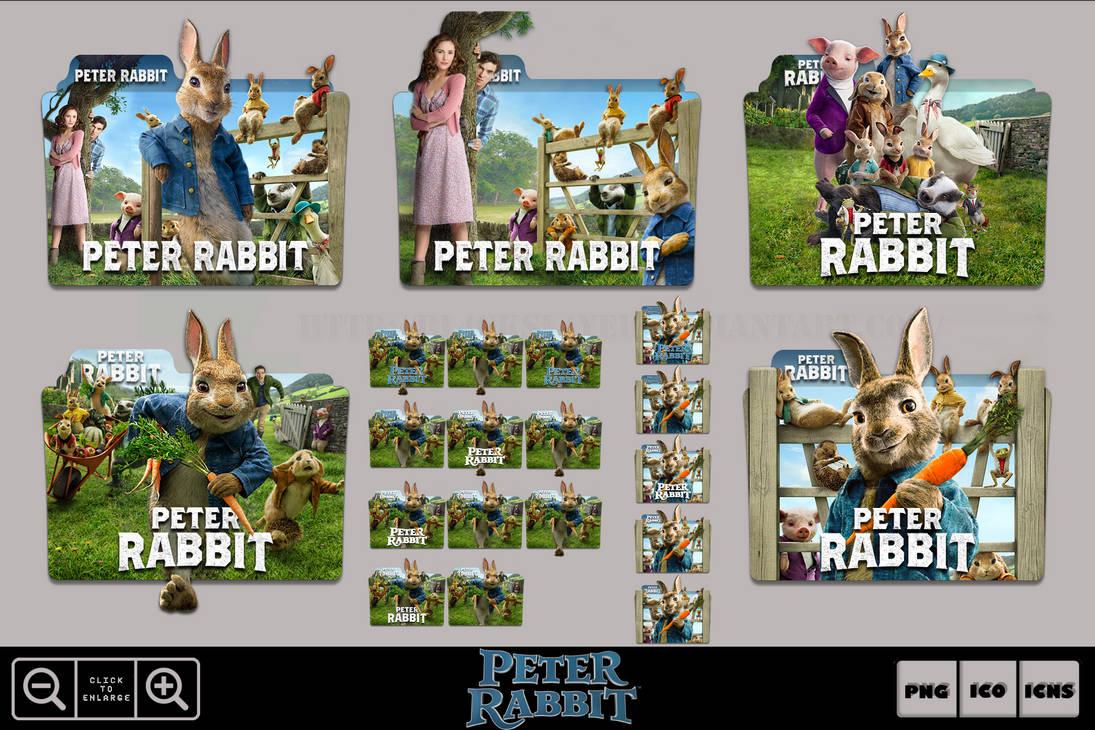 Peter Rabbit 2018 Folder Icon Pack By Bl4cksl4yer On Deviantart