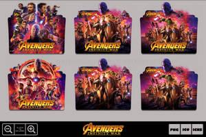 Avengers Infinity War (2018) Folder Icon Pack by Bl4CKSL4YER