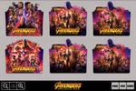 Avengers Infinity War (2018) Folder Icon Pack