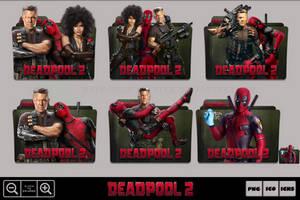 Deadpool 2 (2018) Folder Icon Pack by Bl4CKSL4YER