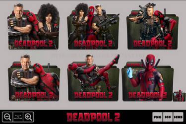 Deadpool 2 (2018) Folder Icon Pack