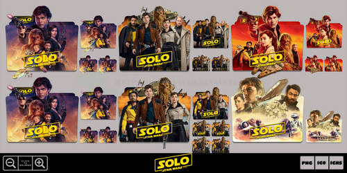 Solo A Star Wars Story (2018) Folder Icon Pack 2