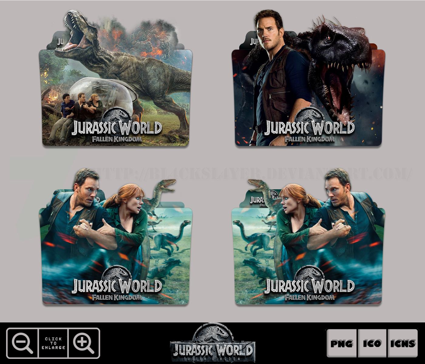 Jurassic World Fallen Kingdom 2018 Folder Pack By Bl4cksl4yer On Deviantart