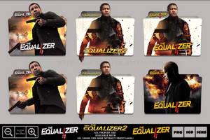 The Equalizer 2 (2018) Folder Icon Pack by Bl4CKSL4YER