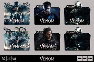 Venom (2018) Folder Icon Pack by Bl4CKSL4YER