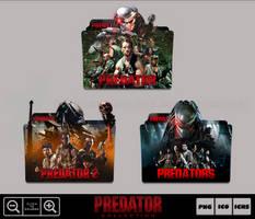 Predator Movie Collection Folder Icon Pack by Bl4CKSL4YER