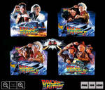 Back to the Future Movie Collection Folder Pack