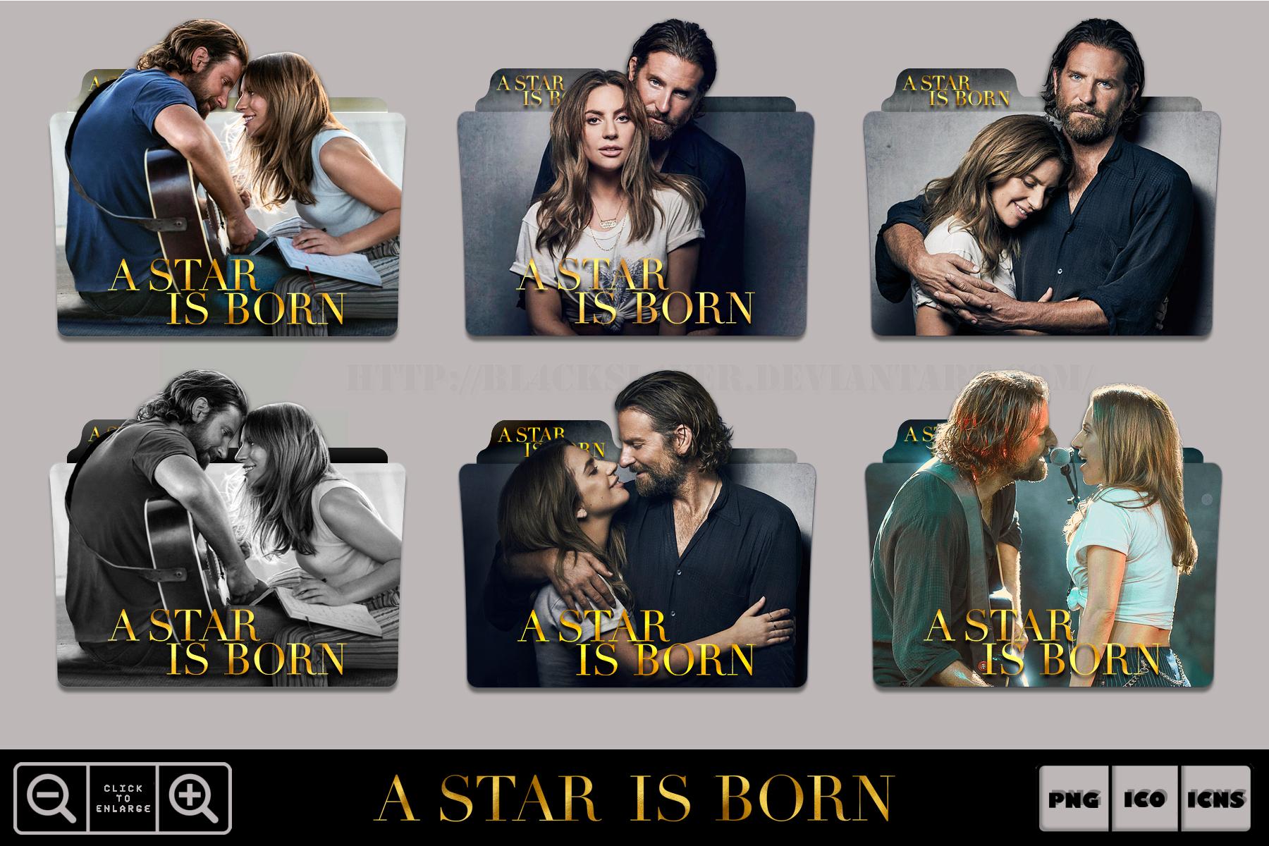 A Star Is Born 2018 Folder Icon Pack By Bl4cksl4yer On Deviantart