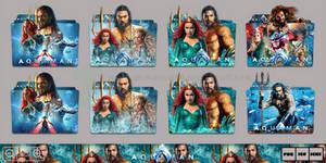 Aquaman (2018) Folder Icon Pack by Bl4CKSL4YER