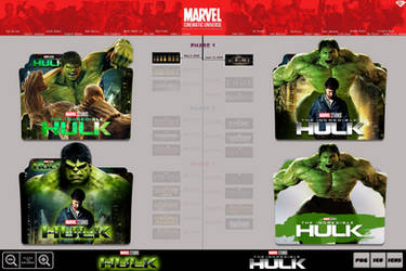 The Incredible Hulk (2008) Folder Icon Pack by Bl4CKSL4YER