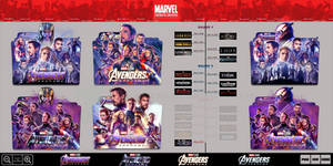 Avengers: Endgame (2019) Folder Icon Pack