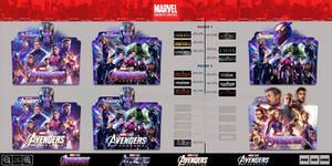 Avengers: Endgame (2019) Folder Icon Pack Part2