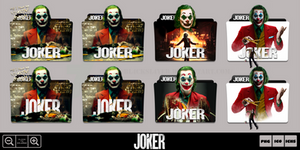 Joker (2019) Folder Icon Pack