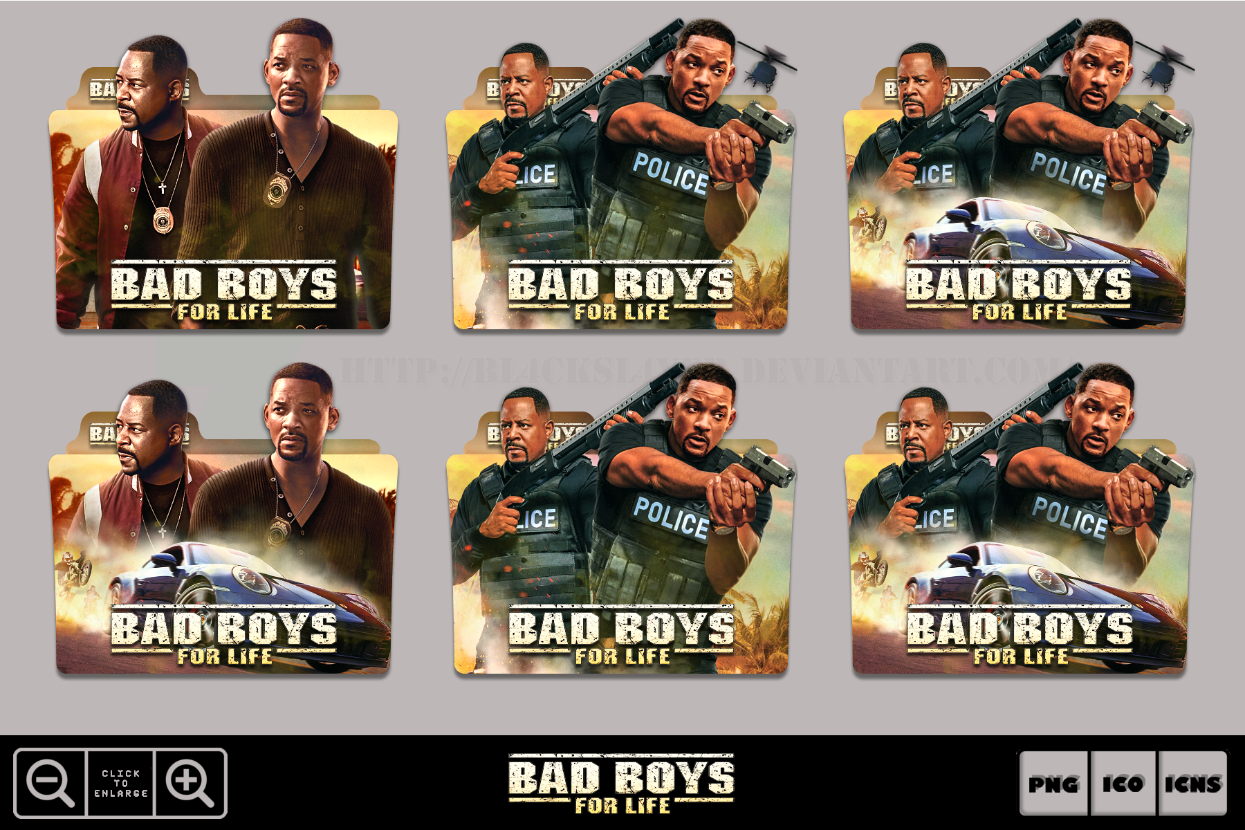 Bad Boys For Life 2020 Folder Icon Pack By Bl4cksl4yer On Deviantart
