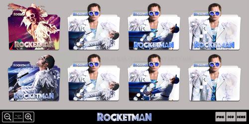 Rocketman (2019) Movie Folder Icon Pack