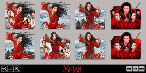 Mulan (2020) Movie Folder Icon Pack