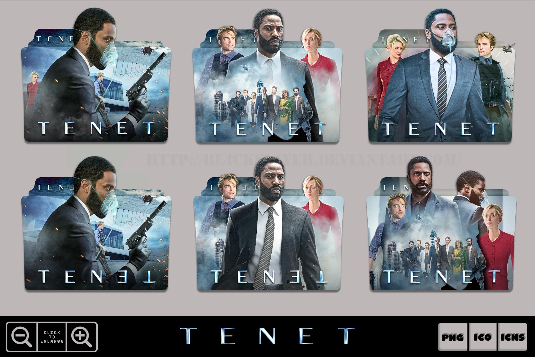Tenet 2020 Movie Folder Icon Pack By Bl4cksl4yer On Deviantart