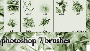 3ds Max Photoshop Brushes by antip0serorg