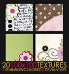 100x100 Textures 2 by rainbowcolored