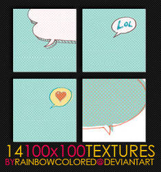 100x100 Textures 10 by rainbowcolored