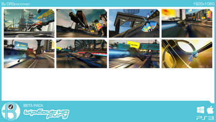 WipEout HD Beta Pack by DRSpaceman