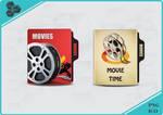 Movies Folder Icon by MosayebSH