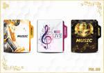 Music Folder Icon by MosayebSH