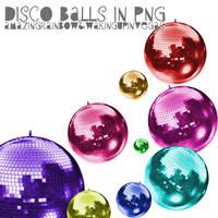 disco balls by wakingupinvegas