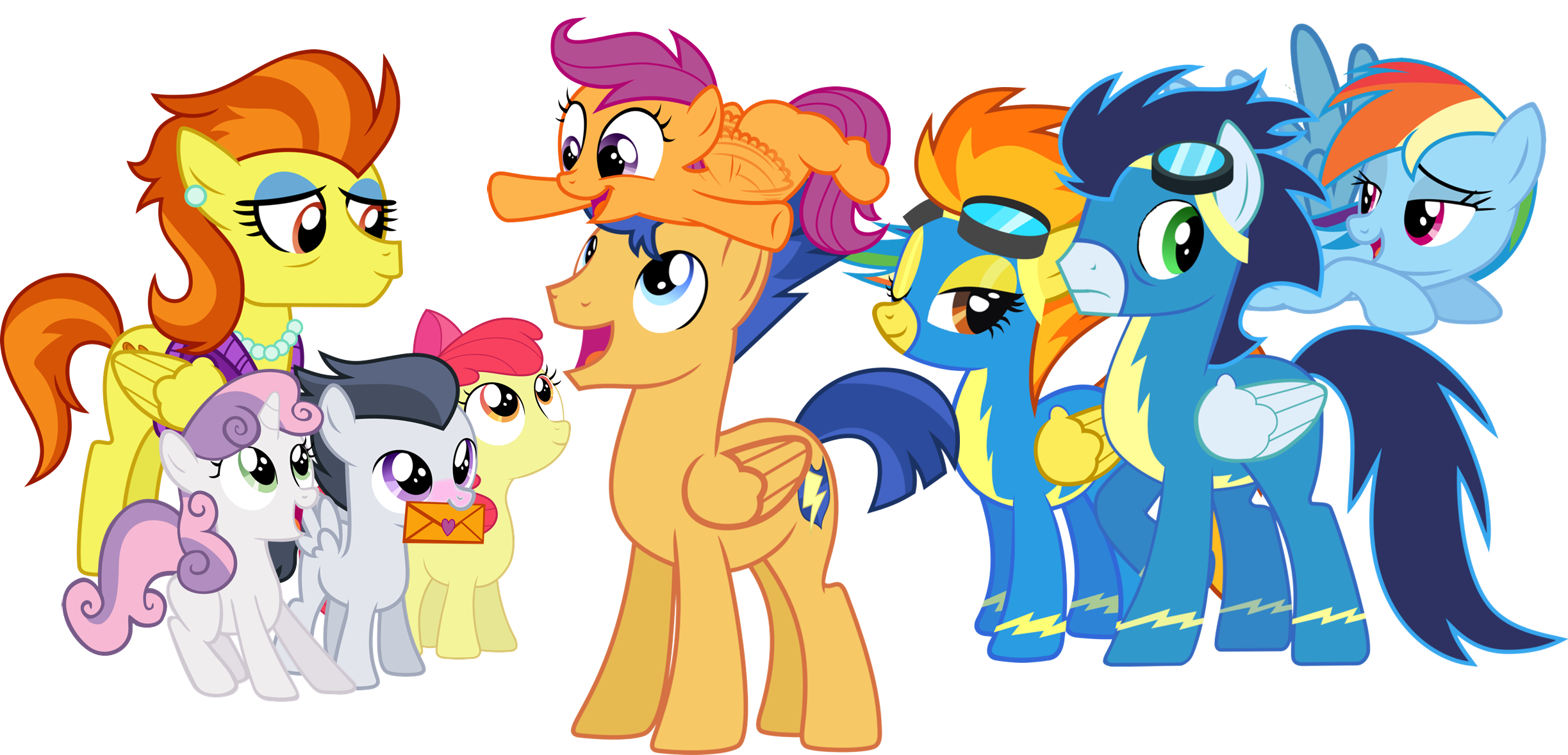 Tales From The Head Canon Scootaloo S Real Family By Bronybyexception On Deviantart One third of the greatest trio of fillies ever! tales from the head canon scootaloo s