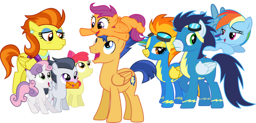 Tales from the Head Canon: Scootaloo's Real Family by bronybyexception