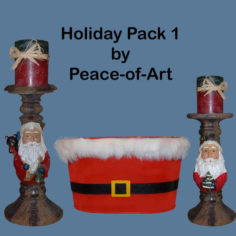 Holiday Pack 1 by Peace-of-Art