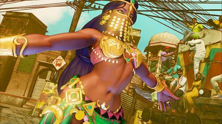 SFVCE Menat - Arabian Dancer by Tanooki128