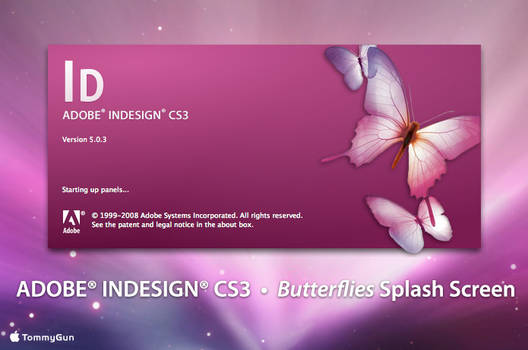 Adobe InDesign - Butterflies