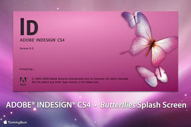 Adobe InDesign CS4 - Butterfly