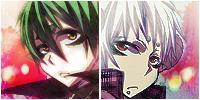 Amaimon + Astaroth Twins Icons by ladysephiroth21