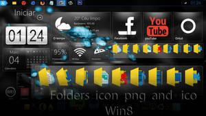 Folders For theme Win8