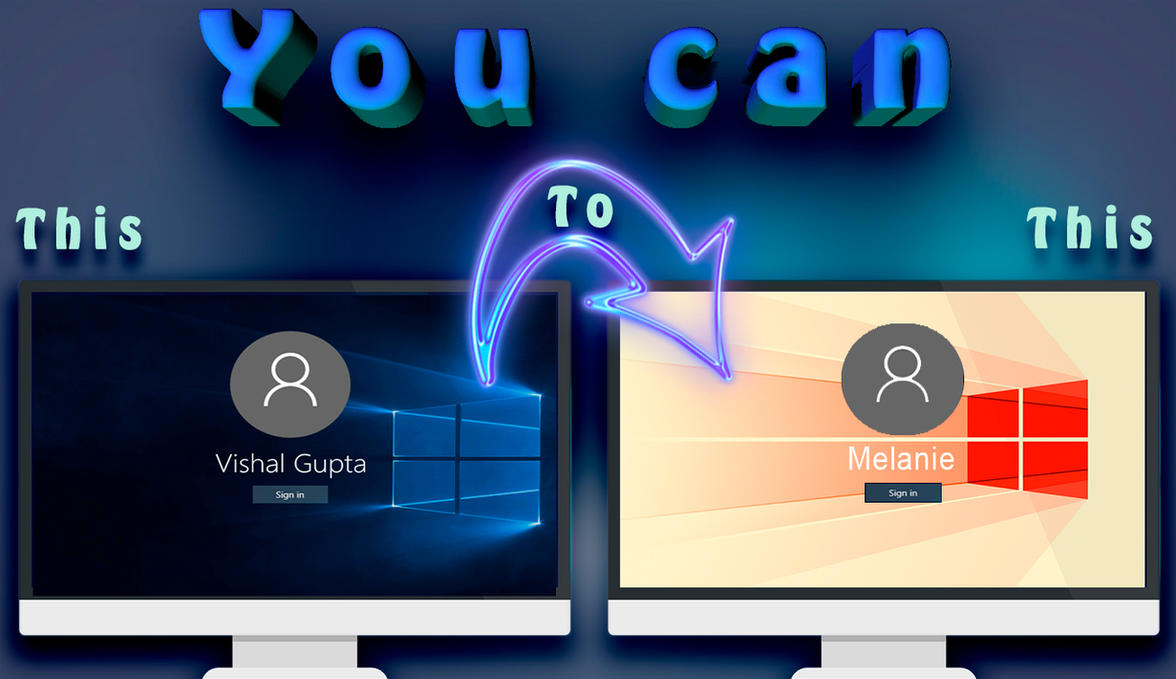 how to change windows 10 login wallpaper