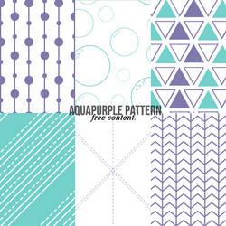 aquapurple pattern