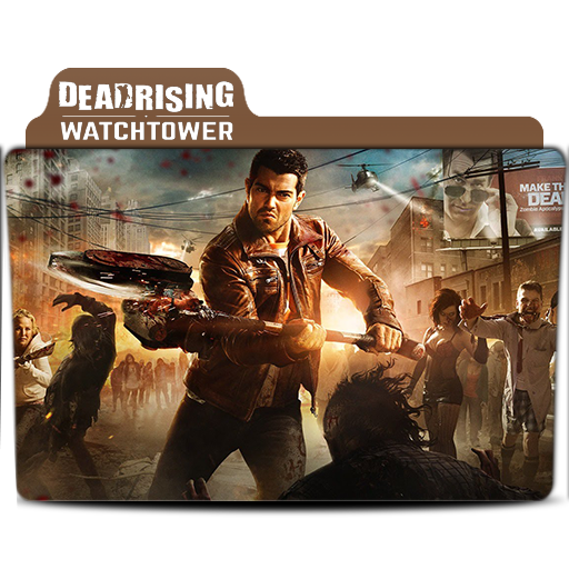 Dead Rising Watchtower 2015 Folder Icon By Taymoorismail On Deviantart