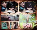 For The First Time PSD